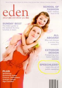 Eden Magazine Front Page
