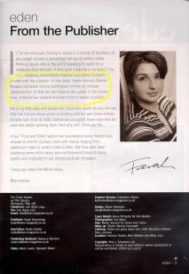Eden Magazine Editorial