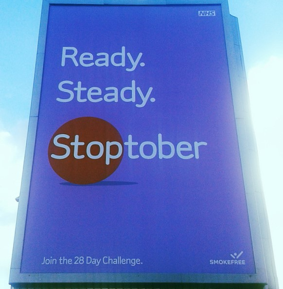 Ready. Steady. Stoptober